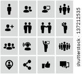 social icons | Shutterstock .eps vector #137212535