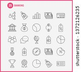 banking line icon for web ...