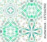 geometric color watercolor...   Shutterstock . vector #1372162502