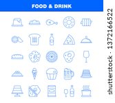 food and drink line icon for...