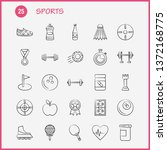 sports hand drawn icon for web  ...
