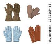 vector illustration of glove...   Shutterstock .eps vector #1372169465
