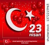 """23 nisan ulusal egemenlik ve ...   Shutterstock .eps vector #1372215965"