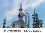 oil industries plant   the... | Shutterstock . vector #1372216022