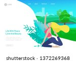 web page design template with...