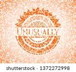 unusually abstract orange... | Shutterstock .eps vector #1372272998
