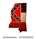 territory of Mississippi state isolated from other states of USA