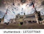 rome  italy   april 3  2019 ... | Shutterstock . vector #1372377065