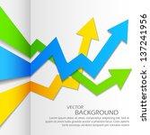 illustration of infographics... | Shutterstock .eps vector #137241956