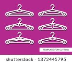 set of decorative clothes...   Shutterstock .eps vector #1372445795