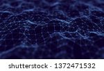 abstract technology background. ... | Shutterstock . vector #1372471532