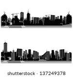 vector illustration.city... | Shutterstock .eps vector #137249378