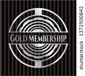 gold membership silver badge | Shutterstock .eps vector #1372500842