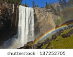 Rainbow And Vernal Falls In...