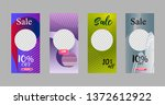 covers templates set with... | Shutterstock .eps vector #1372612922