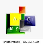 square geometric composition ...   Shutterstock .eps vector #1372614635
