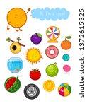 educational children game ... | Shutterstock .eps vector #1372615325