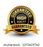 powerful golden and black high... | Shutterstock .eps vector #1372625762