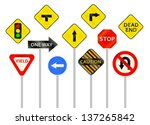 a collection of various... | Shutterstock .eps vector #137265842