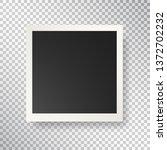 photo frame on transparent... | Shutterstock .eps vector #1372702232
