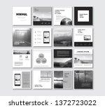 social media pack. slides for...   Shutterstock .eps vector #1372723022