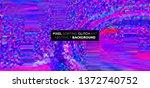 pixel sorting glitch background ...   Shutterstock .eps vector #1372740752