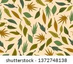 spring theme seamless pattern...   Shutterstock .eps vector #1372748138