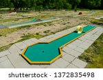 playground in the park | Shutterstock . vector #1372835498