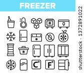 freezer  cooling appliance... | Shutterstock .eps vector #1372891022