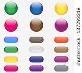 buttons | Shutterstock .eps vector #137293316