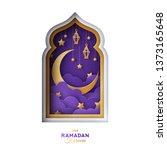 Ramadan Kareem Greeting Card....