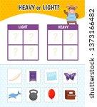 educational game for children... | Shutterstock .eps vector #1373166482