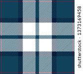 Blue  White And Red Tartan...