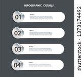 plate metal info graphic... | Shutterstock .eps vector #1373174492