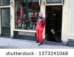 amsterdam  netherlands  april... | Shutterstock . vector #1373241068