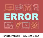 error word concepts banner....