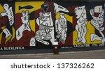 berlin   august 1  east side... | Shutterstock . vector #137326262