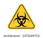 isolated biological hazards... | Shutterstock .eps vector #1373269715