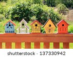 Collection Of Colorful Wooden...