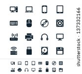 computer icons | Shutterstock .eps vector #137332166