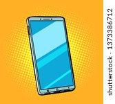 mobile phone smartphone. pop... | Shutterstock . vector #1373386712