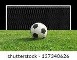 soccer  football  target to goal | Shutterstock . vector #137340626