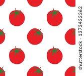 tomato seamless pattern for... | Shutterstock .eps vector #1373433362