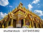 tha sung temple in uthai thani... | Shutterstock . vector #1373455382