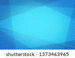 blue halftone abstract... | Shutterstock . vector #1373463965