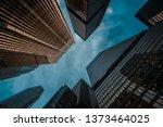 urban skyline  business center... | Shutterstock . vector #1373464025