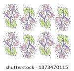 the texture of a regular... | Shutterstock .eps vector #1373470115