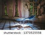 psychiatry bed in old vintage... | Shutterstock . vector #1373525558