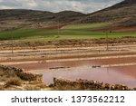 ancient salt exploitation of...   Shutterstock . vector #1373562212