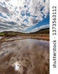 ancient salt exploitation of...   Shutterstock . vector #1373563112